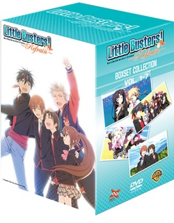 DVD : Little Busters! Refrain : ลิตเติ้ลบัสเตอร์ รีเฟรน Collector Edition Vol.07End.