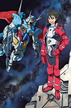 DVD : Gundam Reconguista in G : เรคอนกิสต้า Collector Edition Vol.03