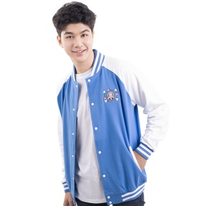 DOP-961-BU-S Jacket OP Chopper สีฟ้า