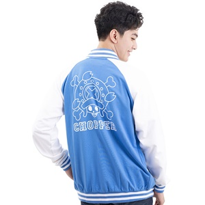 DOP-961-BU-S Jacket OP Chopper สีฟ้า 0