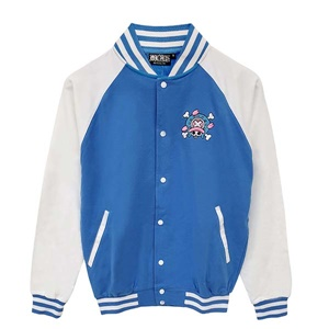 DOP-961-BU-S Jacket OP Chopper สีฟ้า 1
