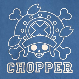 DOP-961-BU-S Jacket OP Chopper สีฟ้า 3