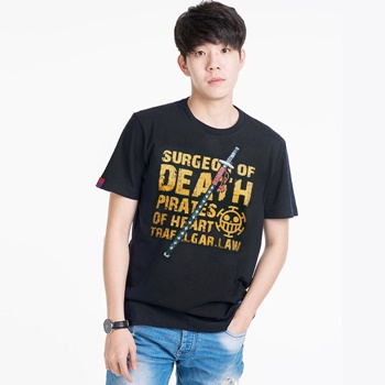 DOP-506-B-XL T-shirt Tees Op Law ดำ