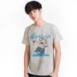 DOP-605-GY-S T-Shirt OP Carnival สีเทา