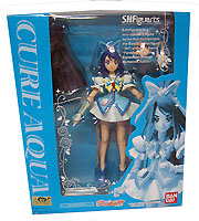 Hot-Hit Japanese Figure : Yes! PreCure 5 Go Go! S.H.Figurets Cure Aqua PVC Figure