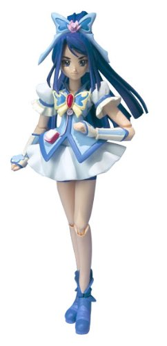 Hot-Hit Japanese Figure : Yes! PreCure 5 Go Go! S.H.Figurets Cure Aqua PVC Figure 1