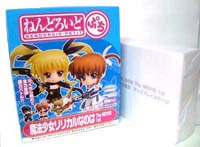 Hot-Hit Japanese Figure : Good Smile : Nendoroid Petite: Magical Girl Lyrical Nanoha The MOVIE 1st 12 Pieces (PVC Figure)
