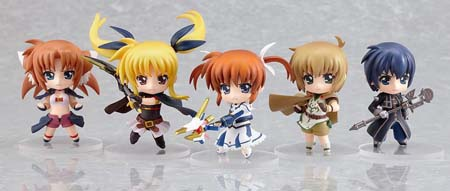 Hot-Hit Japanese Figure : Good Smile : Nendoroid Petite: Magical Girl Lyrical Nanoha The MOVIE 1st 12 Pieces (PVC Figure) 2