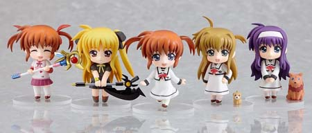 Hot-Hit Japanese Figure : Good Smile : Nendoroid Petite: Magical Girl Lyrical Nanoha The MOVIE 1st 12 Pieces (PVC Figure) 3