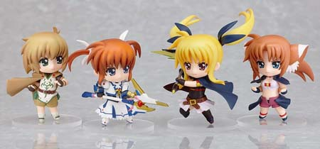 Hot-Hit Japanese Figure : Good Smile : Nendoroid Petite: Magical Girl Lyrical Nanoha The MOVIE 1st 12 Pieces (PVC Figure) 4