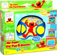 Electronics Game : Sesame Street World First Elec TV Play Sy.