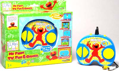 Electronics Game : Sesame Street World First Elec TV Play Sy. 0