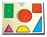 เกมส์ฝึกทักษะเพื่อการศึกษา : 2003 เกมภาพตัดต่อรูปทรงเรขาคณิต 1