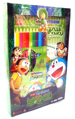 VCD : Doraemon : โดราเอมอน เดอะมูฟวี่ : โนบิตะ กับ ตำนานยักษ์พฤกษา (พร้อมของที่ระลึกดินสอสีและสมุดภาพระบายสี)